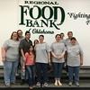 McMurry Serves volunteers at the Regional Food Bank of Oklahoma in Oklahoma City, OK.