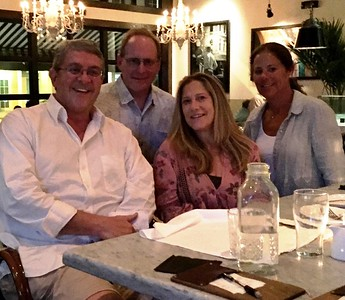Phil Godown '81, Michael Fischer '82, Lisa Godown '82 & Cheryl Fischer
