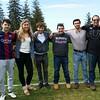 Young alumni at Lacrossee HVAL game May 20, 2017, Reid Landeman, Mark Fadeev, Sky Gyuro, Anthony Matriss, Joe Underwood, Talin Rowe, ColeJemal & Ilya Mikrashevskiy