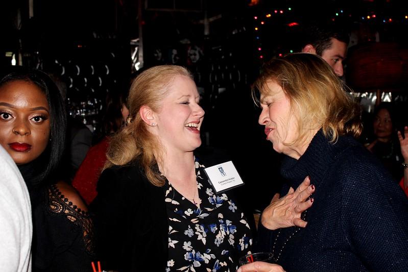 Cassandra Hutzler P'19 with Cathy Hecht P'19