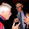 de Racey Gilbert '60, Tom Delaney '58 and Denise Sollami P'02, P'08, P'09