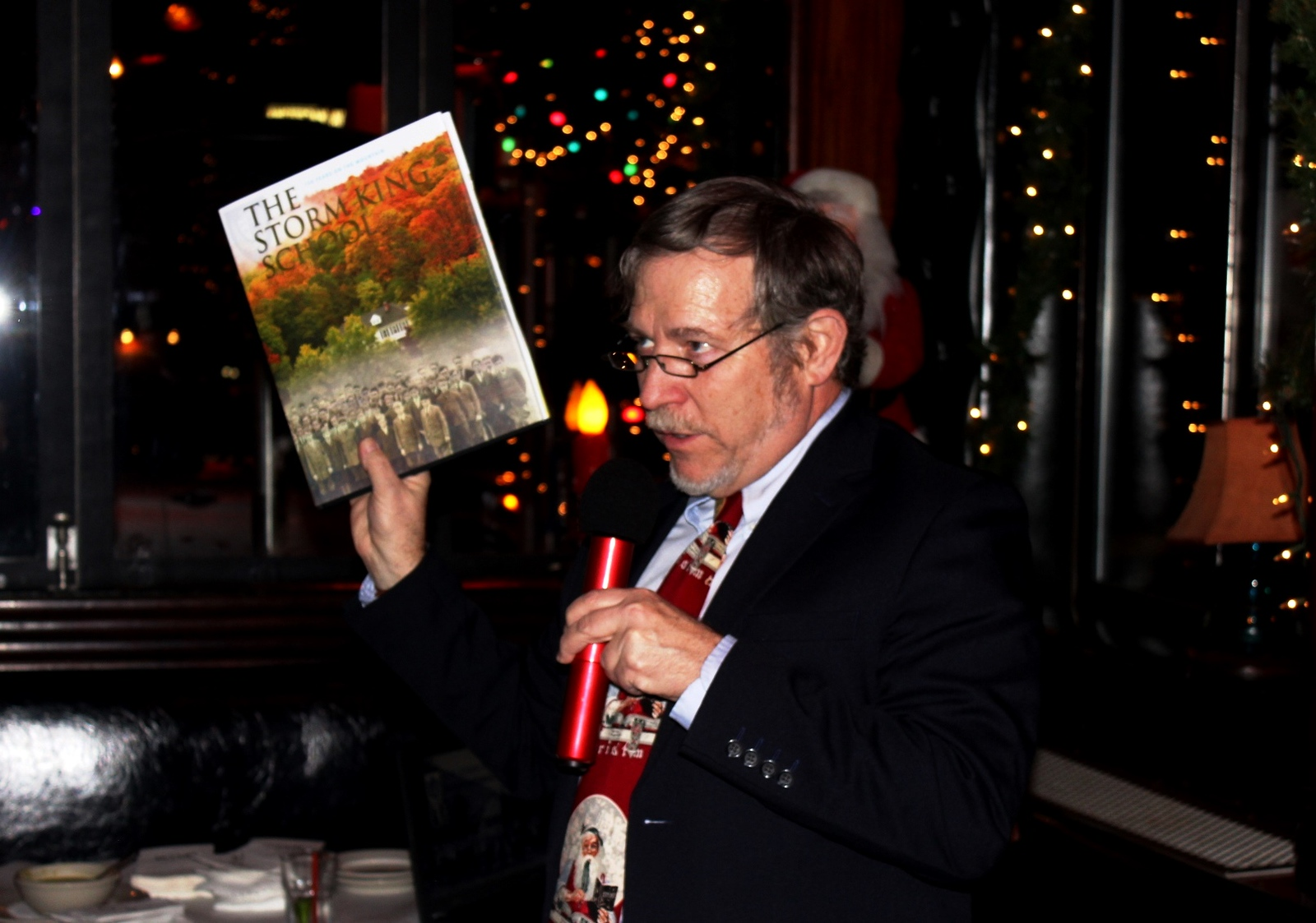 Headmaster Jonathan Lamb and the SKS History Book