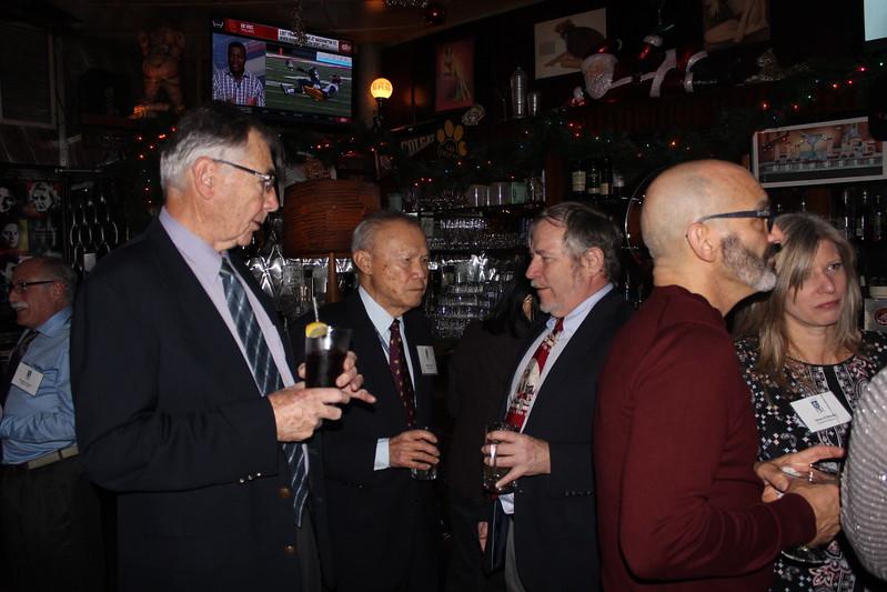 Tom Delaney '58, Bob Chen '55, Jon Lamb