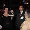 Harrison Davis '56 and wife Marilyn enjoying the food
