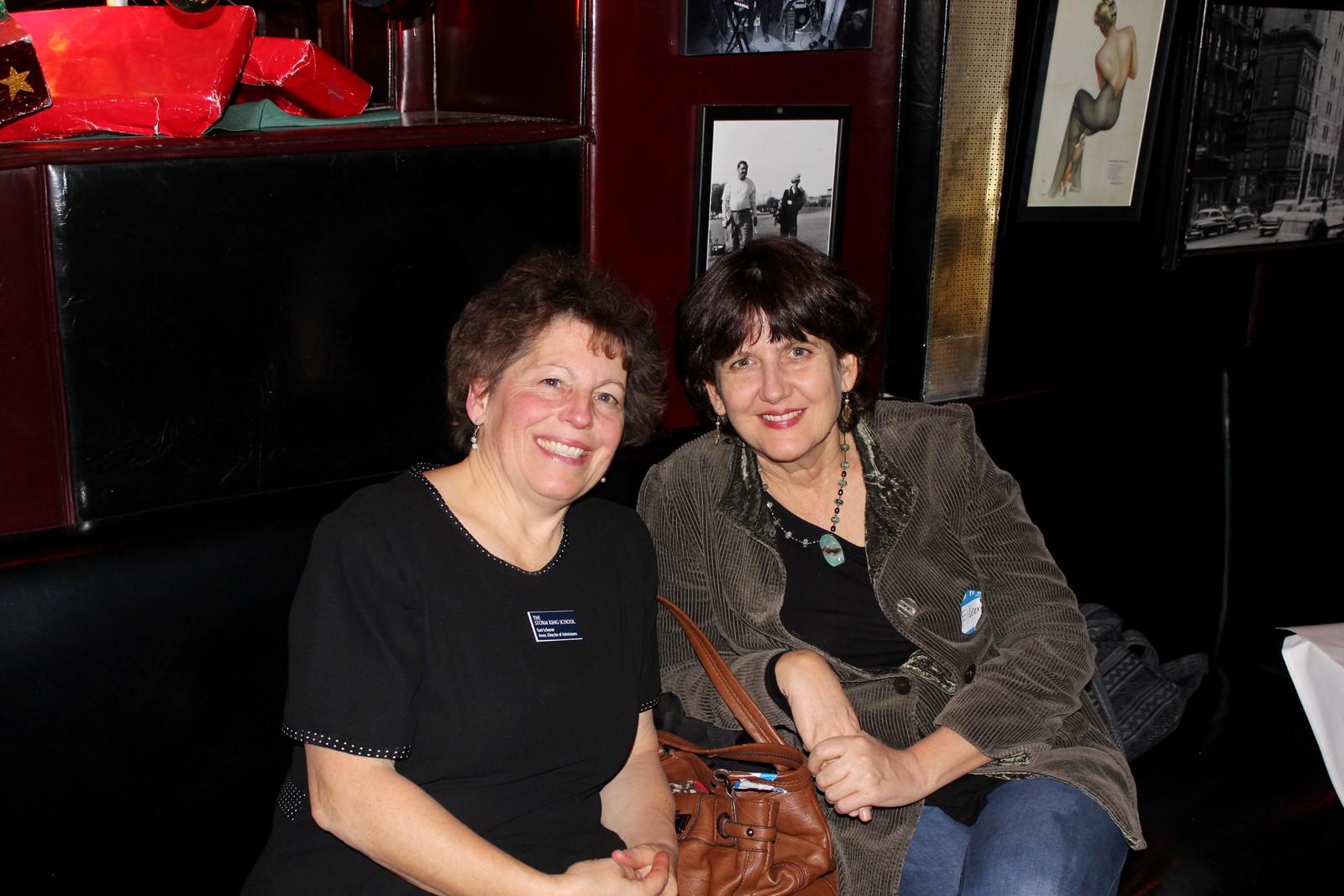 Toni Scherrer and Eileen McGowan P'19