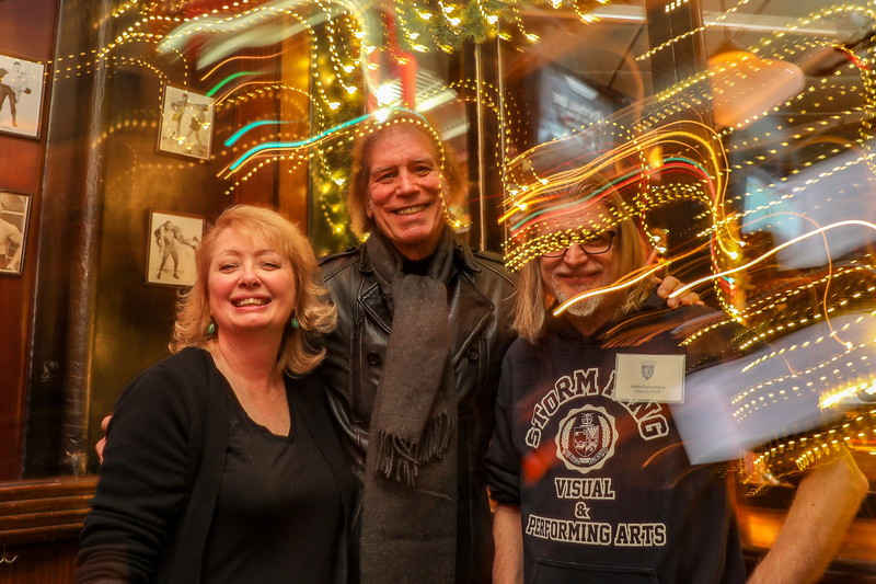 Anne Fulton, former Faculty Frank Annunziata, and John Carruthers