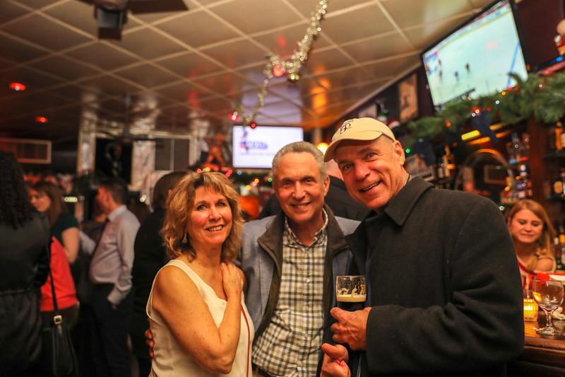 Denise Sollami, Jim Sollami and their friend