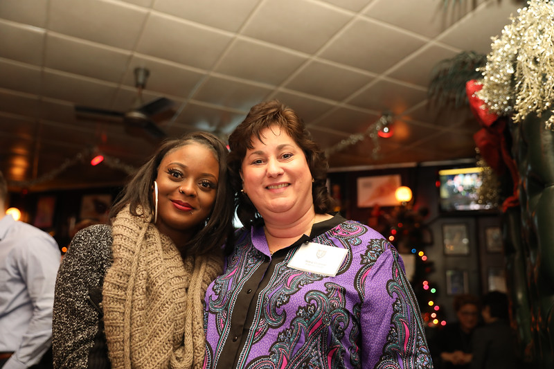 Crystal Findley '11 and Stacy Graziosi