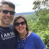 Ross Sober '92 and Jenn Sober on a hike