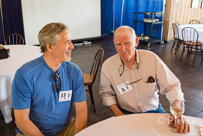 Scott Rutter '73, Thomas Donahue, Past Faculty/Staff