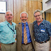 Doug Capers '67, Roger Auerbacher '67 and Chris Capers '74