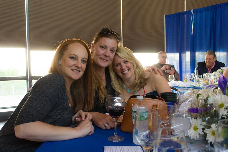 Erin Tewey '92, Ila Barton '92 and Megan Schreiner '93