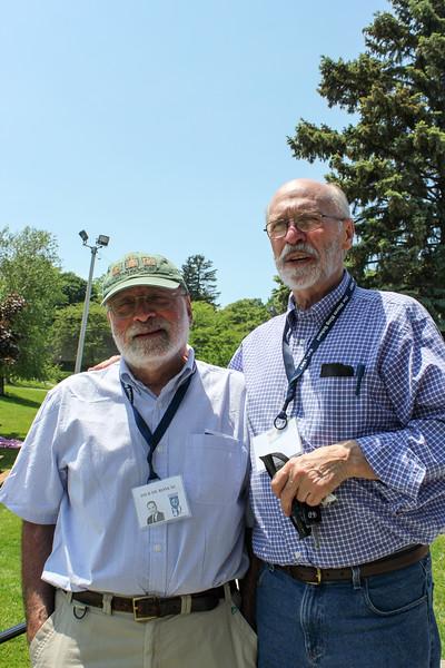 Dick deRosa '61 and David Gilmore '61