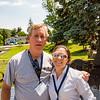 Phil Cunningham '72 with  Megan Murray (spouse of David Feltman '72)