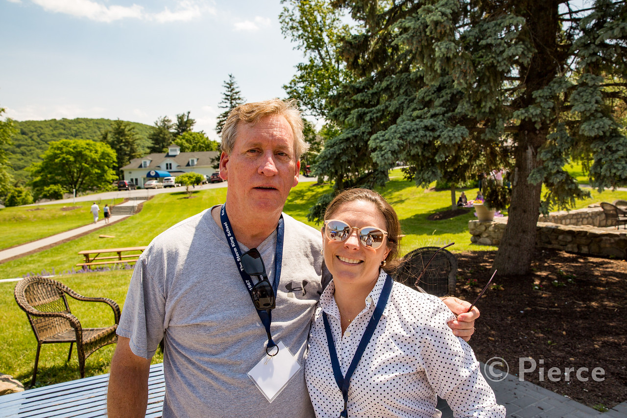 Phil Cunningham '72 with  Megan Murray (spouse of David Feltman '72)