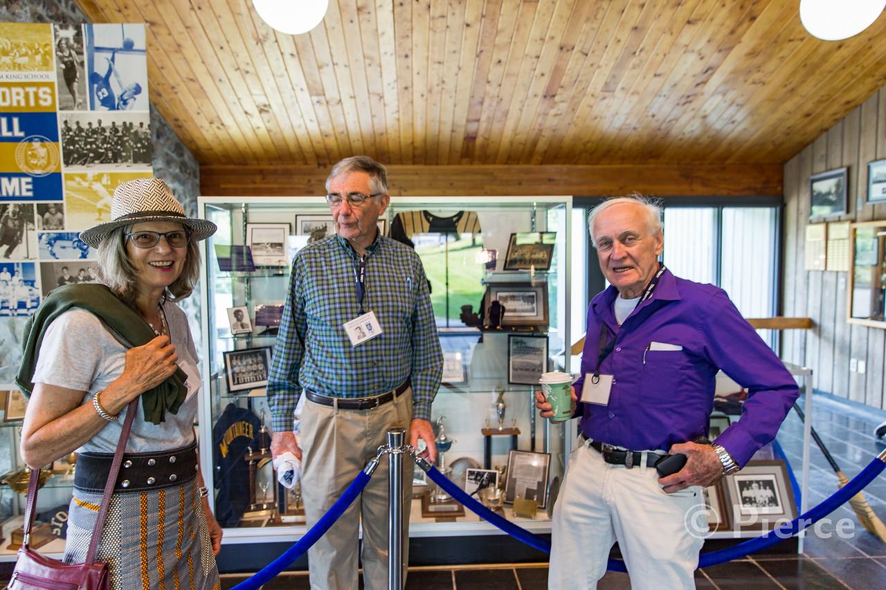 Francis Vincent, Tom Delaney '58 & Bob Parke '57