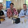Steven '77 and Karen Hirsch with Bob Docherty '72