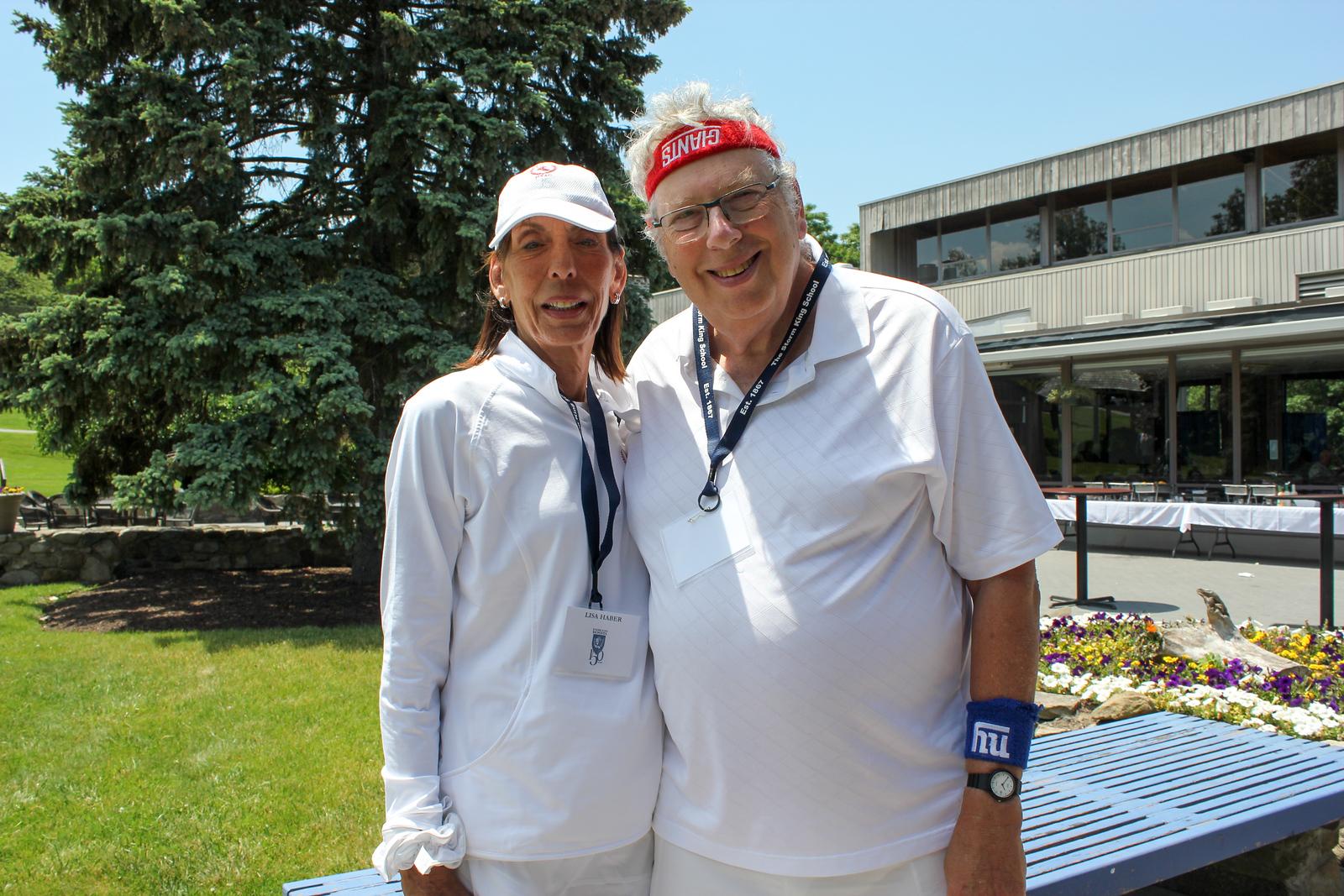 Lisa Haber and Ken Stuart '65