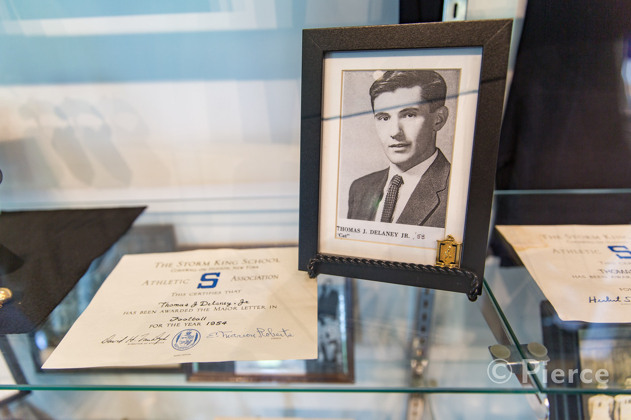 Tom Delaney '58 in the Sports Hall of Fame