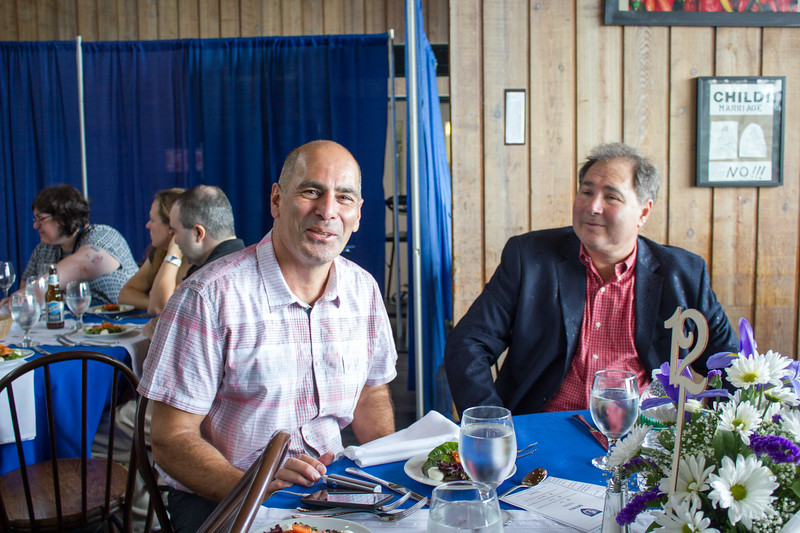 Kayvan Khatami '80 and Adam Eisen  '80