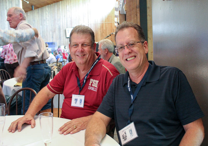 TJ Mangan and Jim Magid, Class of 1971
