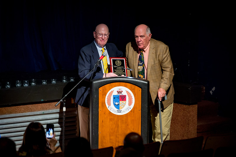 Dick Broughton '54 and Dan Loh '52