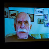 Sports Hall of Fame inductee Bill Perry '53 by video