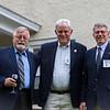Stuart Wilson '63, Bill McDonald '64 and Phil Cameron '64