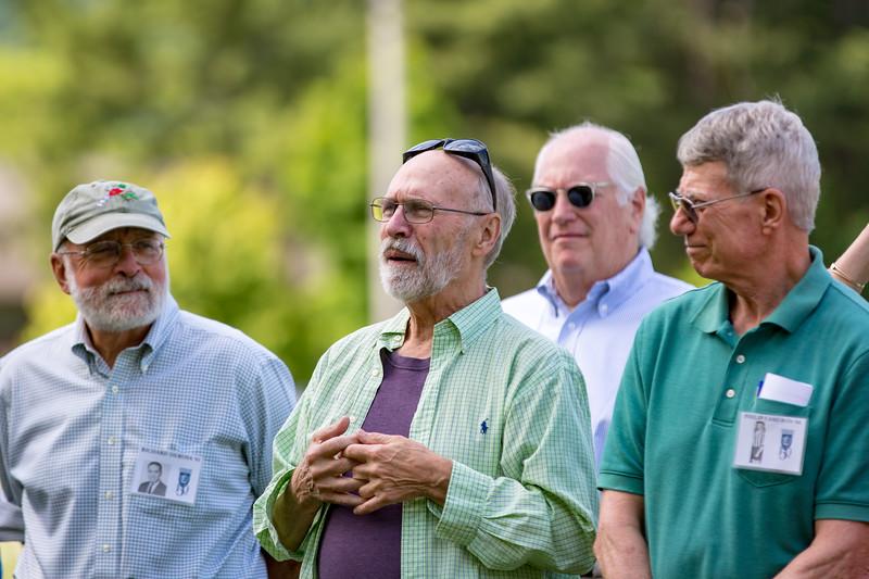 Dick Derosa '61, David Gilmore '61, Bob Ginsburg '72 & Phillip Cameron '64