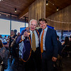 Bob Parke '57 and Assistant Headmaster for Admissions and Marketing  Marek Pramuka