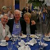 Balazs Szabo '63, John Garrett '63 and Rose Garrett