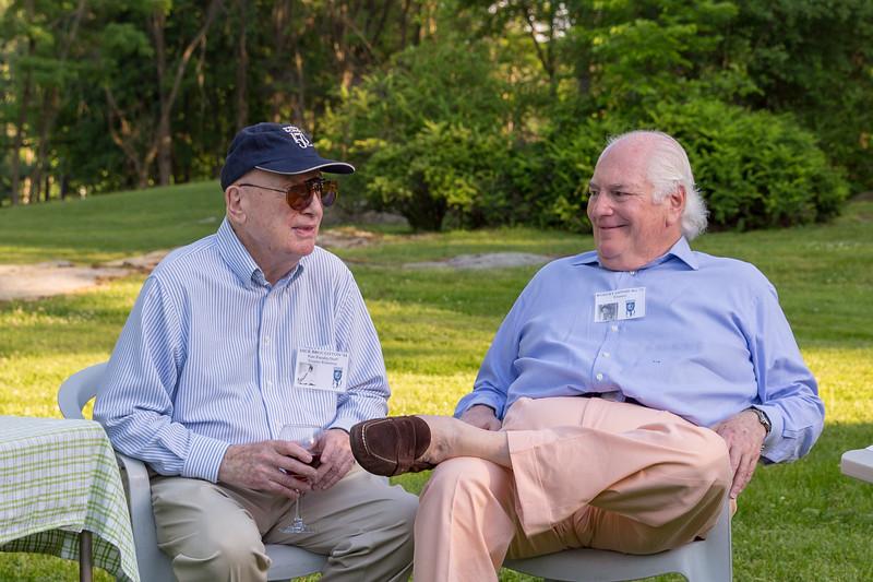 Dick Broughton '54, Bob Ginburg '72
