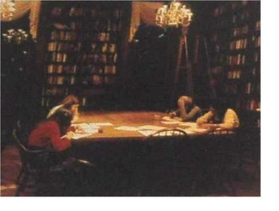 24 - studying in the library