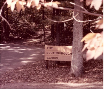 3 - Southborough School sign at entrance