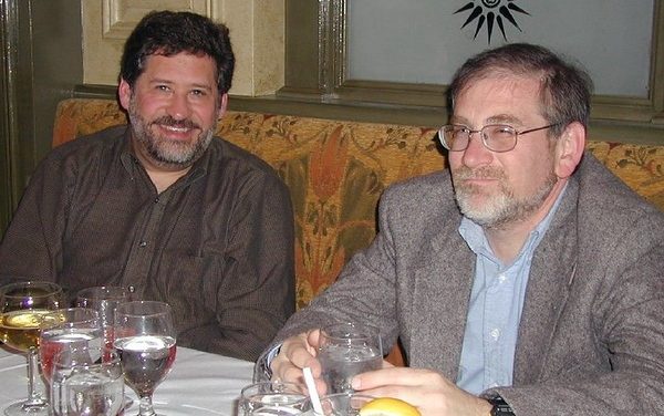 Dave Smukler '77 with Daniel S. Levin