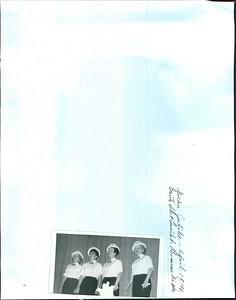Golden Jubilee on April 18, 196???.  Beauty Shop Quartet, Alumnae Nights.