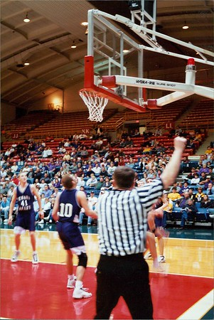 """State Basketball"" photo by Jeremy Gabel '01"
