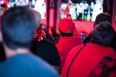 ©2018 Decisive Moment Event Photojournalism, UGA Championship Game viewing party at Live at the Battery Atlanta