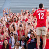 Description: Freshman Welcome Class of 2019<br /> Date of Photo: 8/16/2015<br /> Credit: Dorothy Kozlowski, University of Georgia<br /> Photographic Services File: 32979-023<br /> <br /> The University of Georgia owns the rights to this image or has permission to redistribute this image. Permission to use this image is granted for internal UGA publications and promotions and for a one-time use for news purposes. Separate permission and payment of a fee is required to use any image for any other purpose, including but not limited to, commercial, advertising or illustrative purposes. Unauthorized use of any of these copyrighted photographs is unlawful and may subject the user to civil and criminal penalties. Possession of this image signifies agreement to all the terms described above.