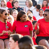 Description: Freshman Welcome Class of 2019<br /> Date of Photo: 8/16/2015<br /> Credit: Dorothy Kozlowski, University of Georgia<br /> Photographic Services File: 32979-006<br /> <br /> The University of Georgia owns the rights to this image or has permission to redistribute this image. Permission to use this image is granted for internal UGA publications and promotions and for a one-time use for news purposes. Separate permission and payment of a fee is required to use any image for any other purpose, including but not limited to, commercial, advertising or illustrative purposes. Unauthorized use of any of these copyrighted photographs is unlawful and may subject the user to civil and criminal penalties. Possession of this image signifies agreement to all the terms described above.
