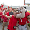 Description: Freshman Welcome Class of 2019<br /> Date of Photo: 8/16/2015<br /> Credit: Andrew Davis Tucker, University of Georgia<br /> Photographic Services File: 32980-149<br /> <br /> The University of Georgia owns the rights to this image or has permission to redistribute this image. Permission to use this image is granted for internal UGA publications and promotions and for a one-time use for news purposes. Separate permission and payment of a fee is required to use any image for any other purpose, including but not limited to, commercial, advertising or illustrative purposes. Unauthorized use of any of these copyrighted photographs is unlawful and may subject the user to civil and criminal penalties. Possession of this image signifies agreement to all the terms described above.