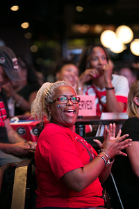 © 2019 Decisive Moment Events, The University of Georgia Alumni Association's watching party for UGA vs. Notre Dame at Sports and Social at the Battery in Atlanta, GA