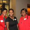 Kensa Gunter (BS '99), Neicy Wells (AB '96) and Vanessa Smith... or 'Miss V' to most students and graduates!