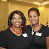 Yvette Daniels (AB '86, JD '89) and Neicy Wells (AB '96)