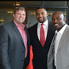 Jon Stinchcomb (BS '02), Richard Seymour (M '01) and Will Witherspoon (BSFCS '07)