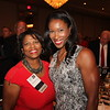 UGA Alumni Association Board of Directors member Yvette Daniels (AB '86, JD '89) with Leah Brown, MD (BS '98)
