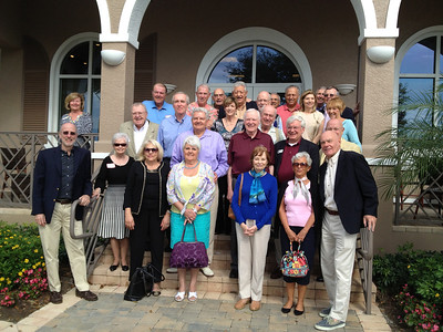 Naples area alumni reception, hosted by Val & Bob Esti, '55 at Spring Run Country Club at the Brooks in Bonita Springs.
