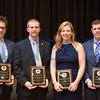Left to right: Erik Stevens, Chris Stock, Cherylyn Pinkerton Wilson and Marc Miller