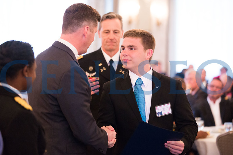 Dustin McGunnigle shakes hands with Patrick J Murphy — Secretary of the Army // DGMcGunnigle@gmail.com // 856-577-7859