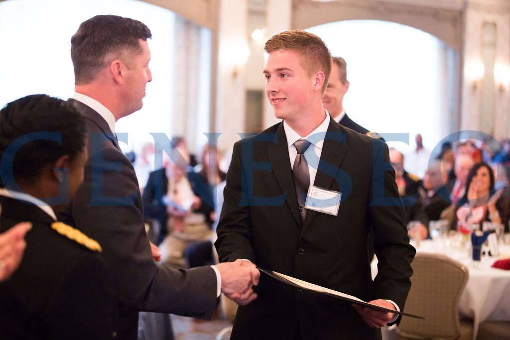 Joseph Davis shakes hands with  Patrick J Murphy — Secretary of the Army // joeydavis1@hotmail.com // 856-770-4131